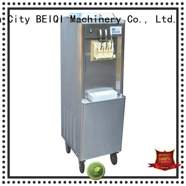 BEIQI Soft Ice Cream Machine for sale OEM For Restaurant