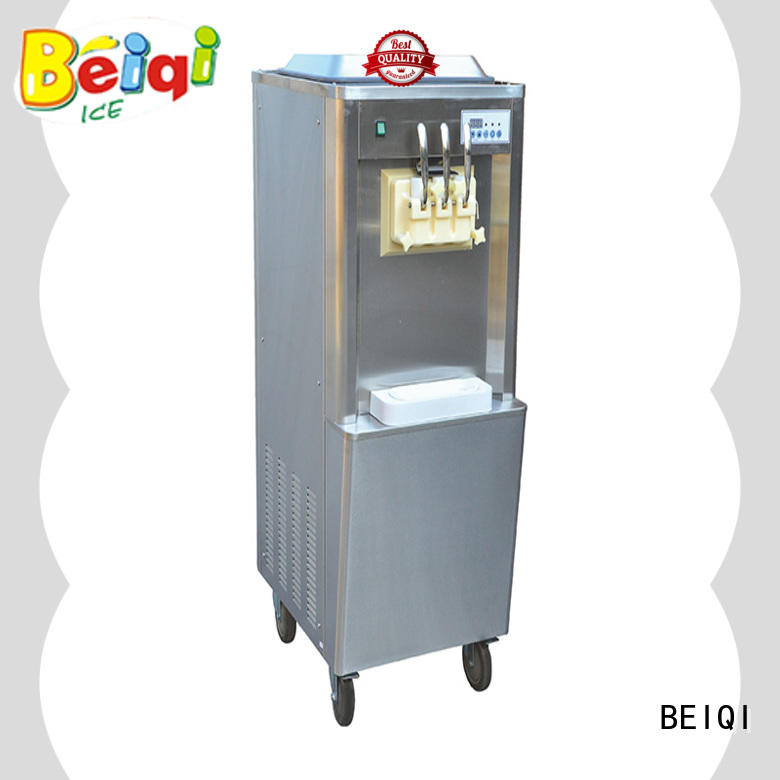 BEIQI different flavors soft serve ice cream machine ODM For commercial