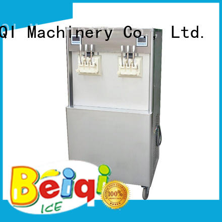 Breathable soft serve ice cream machine commercial use customization For dinning hall