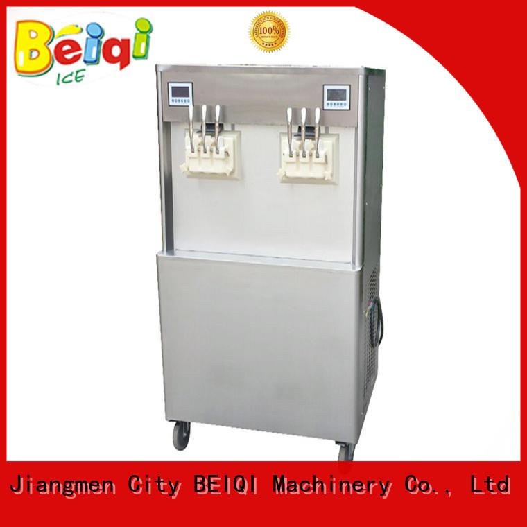 BEIQI different flavors ice cream maker machine for sale customization Frozen food factory