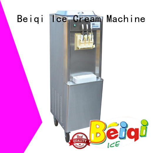 solid mesh Soft Ice Cream Machine for sale bulk production For Restaurant