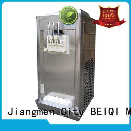 durable professional ice cream machine silver get quote Snack food factory