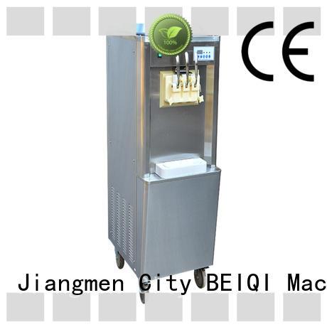 BEIQI different flavors Soft Ice Cream Machine ODM For Restaurant