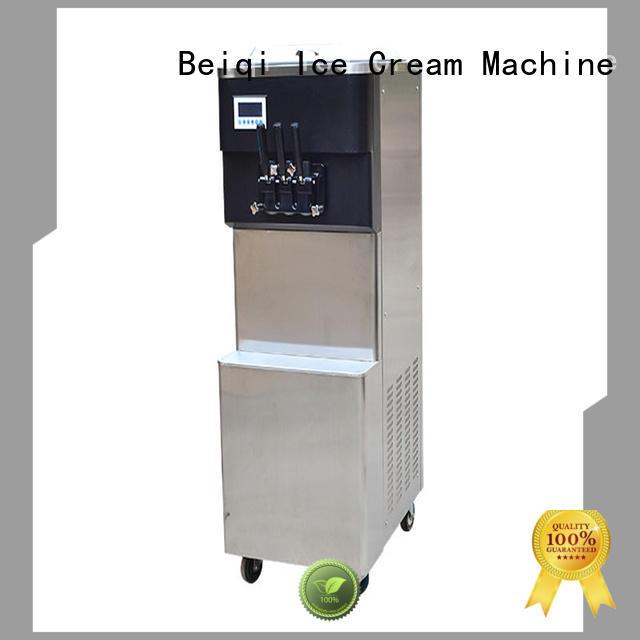 BEIQI solid mesh ice cream maker machine for sale customization For Restaurant