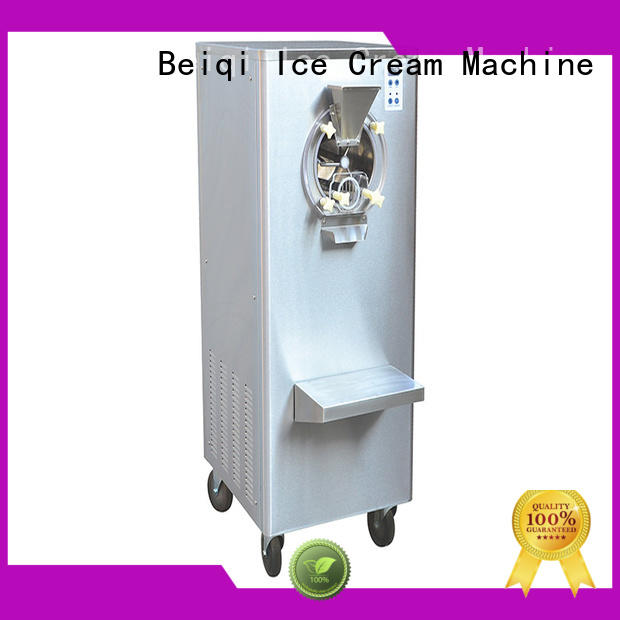 BEIQI different flavors Hard Ice Cream Machine customization For Restaurant