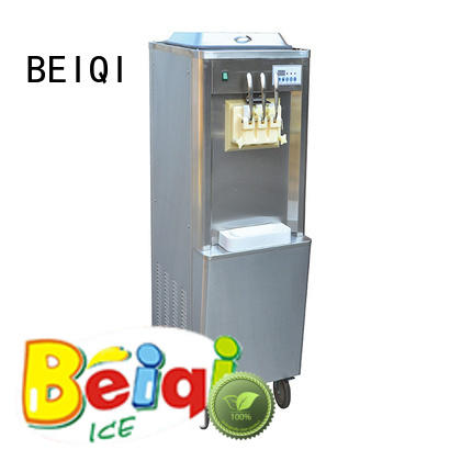 BEIQI Soft Ice Cream Machine for sale Snack food factory