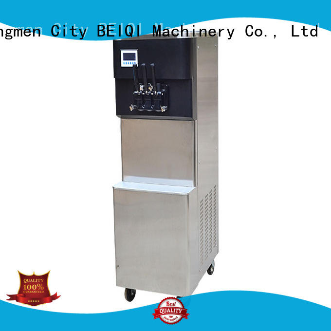 solid mesh Soft Ice Cream Machine commercial use customization Frozen food factory