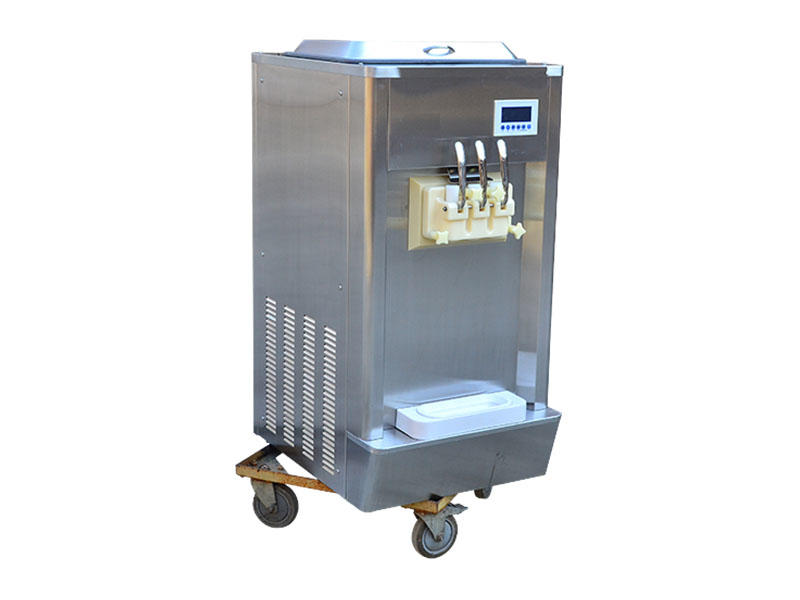 BEIQI durable Three flavors Soft Ice Cream Machine different flavors For Restaurant-1