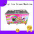 BEIQI silver Fried Ice Cream making Machine buy now Snack food factory