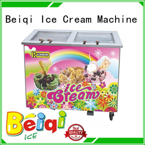 durable Fried Ice Cream Machine different flavors get quote Frozen food factory