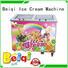 BEIQI different flavors Fried Ice Cream Machine customization Frozen food factory