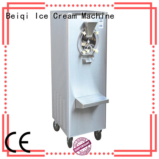 BEIQI funky Soft Ice Cream Machine for sale free sample For Restaurant
