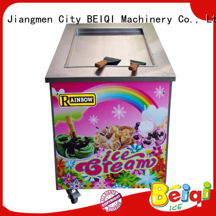 BEIQI different flavors Fried Ice Cream Maker for wholesale For dinning hall