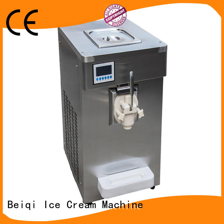 latest best soft serve ice cream machine silver for wholesale Frozen food factory