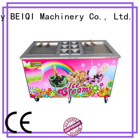 latest Fried Ice Cream Machine silver OEM For commercial