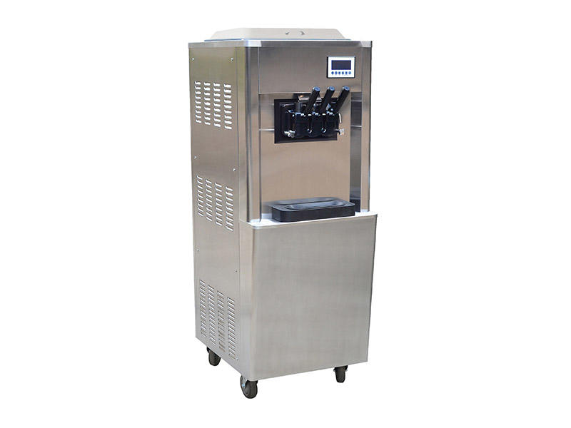 BEIQI different flavors Manufacturer supply Commercial Soft Ice Cream Machine OEM Snack food factory-2