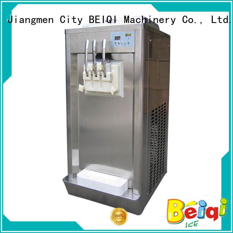 BEIQI funky Soft Ice Cream Machine ODM Snack food factory