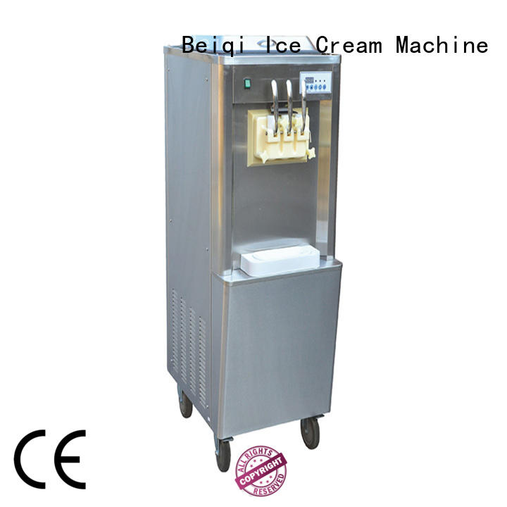 BEIQI high-quality Soft Ice Cream Machine for sale bulk production Snack food factory