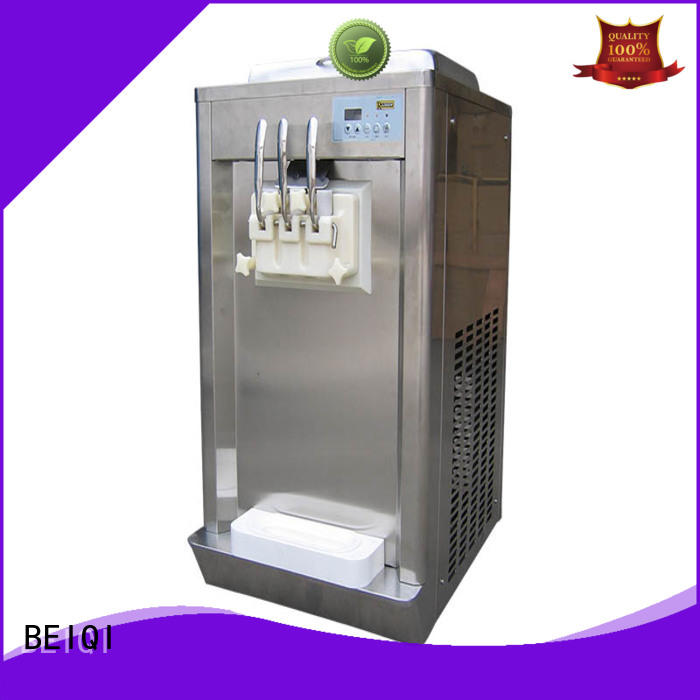 BEIQI portable Soft Ice Cream maker silver Frozen food factory