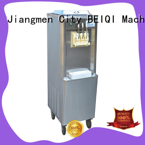BEIQI on-sale soft ice cream maker machine free sample Frozen food factory