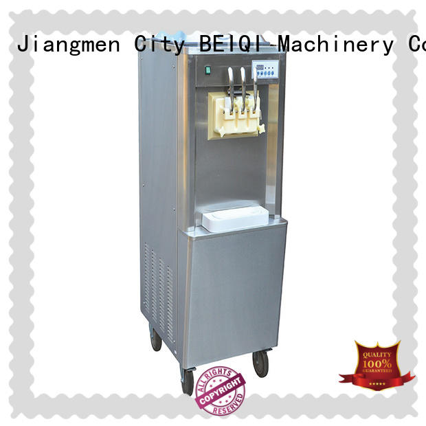 Breathable soft serve ice cream machine silver for wholesale For Restaurant
