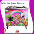 BEIQI different flavors Fried Ice Cream Machine get quote For commercial