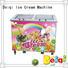 BEIQI durable Fried Ice Cream Machine free sample For Restaurant