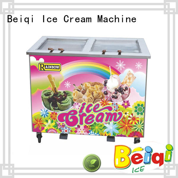 silver Fried Ice Cream Maker get quote Frozen food factory BEIQI