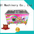 BEIQI silver Fried Ice Cream Maker buy now Snack food factory