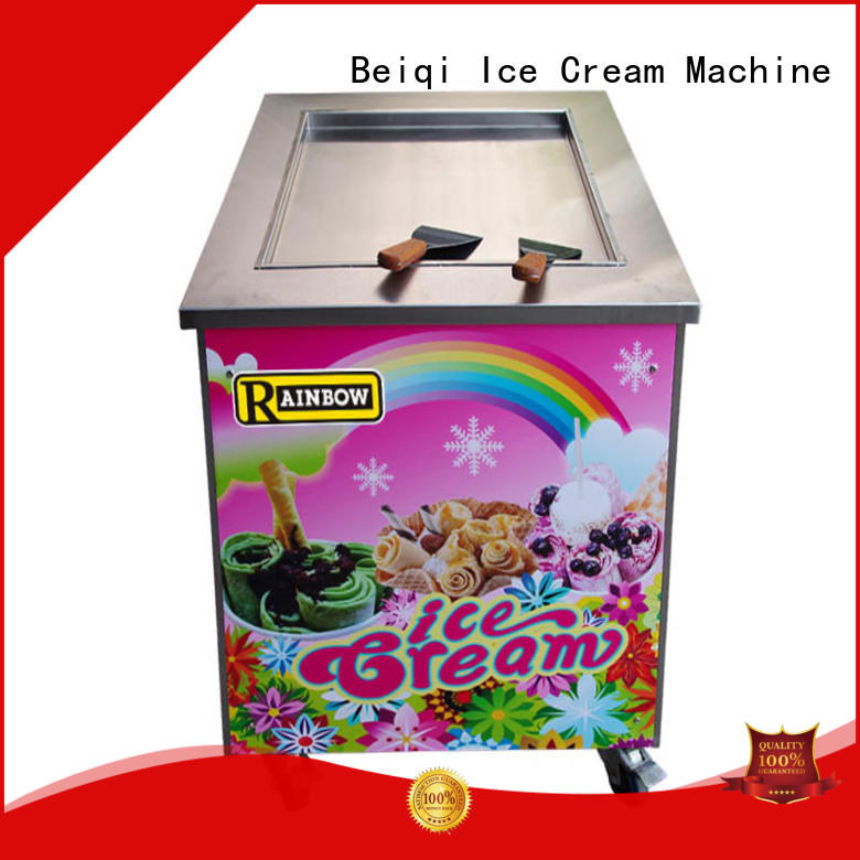 BEIQI high-quality fried Ice Cream Machine get quote For Restaurant