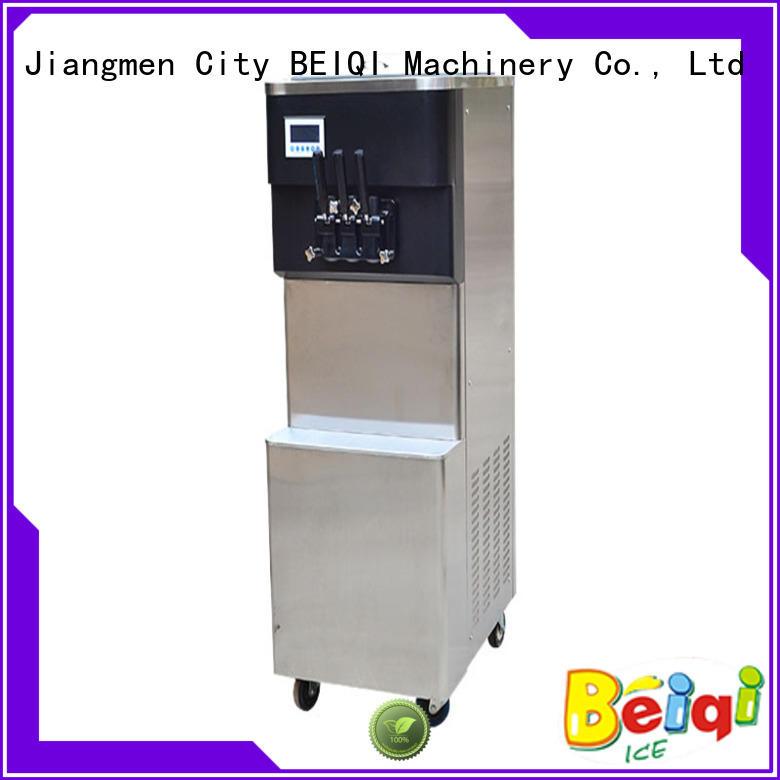 BEIQI Soft Ice Cream Machine for sale Frozen food Factory