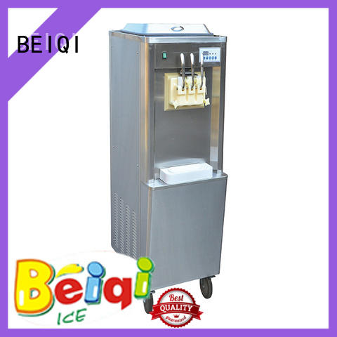 BEIQI solid mesh Soft Ice Cream Machine for sale bulk production Snack food factory