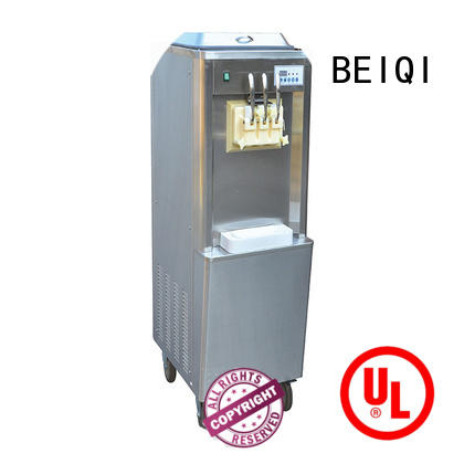 BEIQI silver Ice Cream Machine Company get quote Frozen food factory