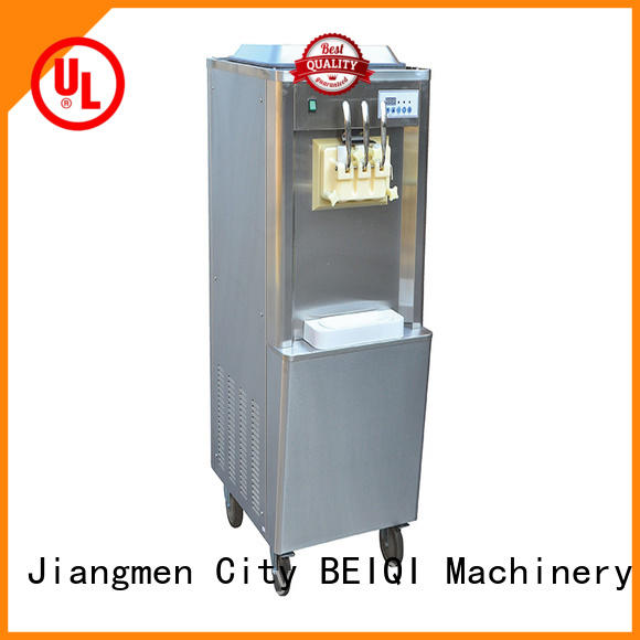 BEIQI durable Soft Ice Cream Machine for sale buy now Snack food factory