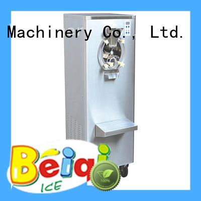solid mesh hard ice cream freezer different flavors for wholesale Snack food factory
