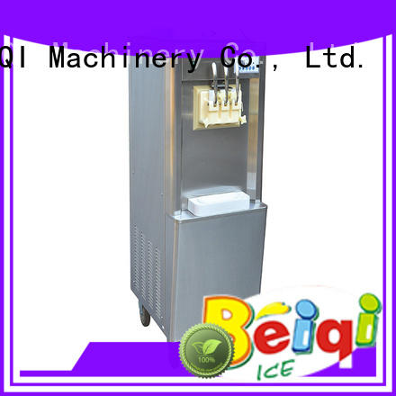 BEIQI durable Soft Ice Cream Machine for sale free sample Frozen food Factory