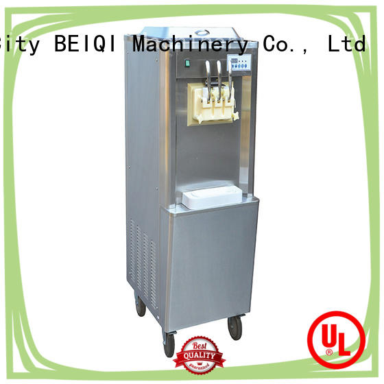 solid mesh Soft Ice Cream Machine for sale supplier Snack food factory
