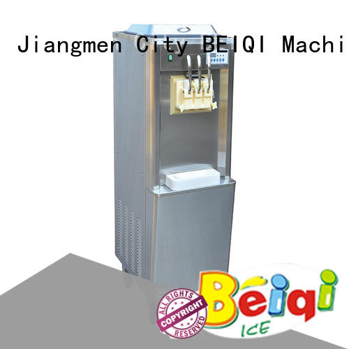 solid mesh soft Ice Cream Machine free sample Frozen food Factory BEIQI