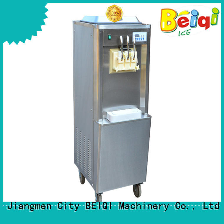 at discount soft serve ice cream machine silver OEM Snack food factory