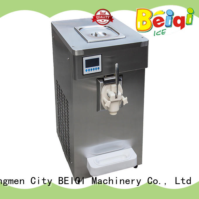 Three flavors Soft Ice Cream Machine different flavors Frozen food factory BEIQI