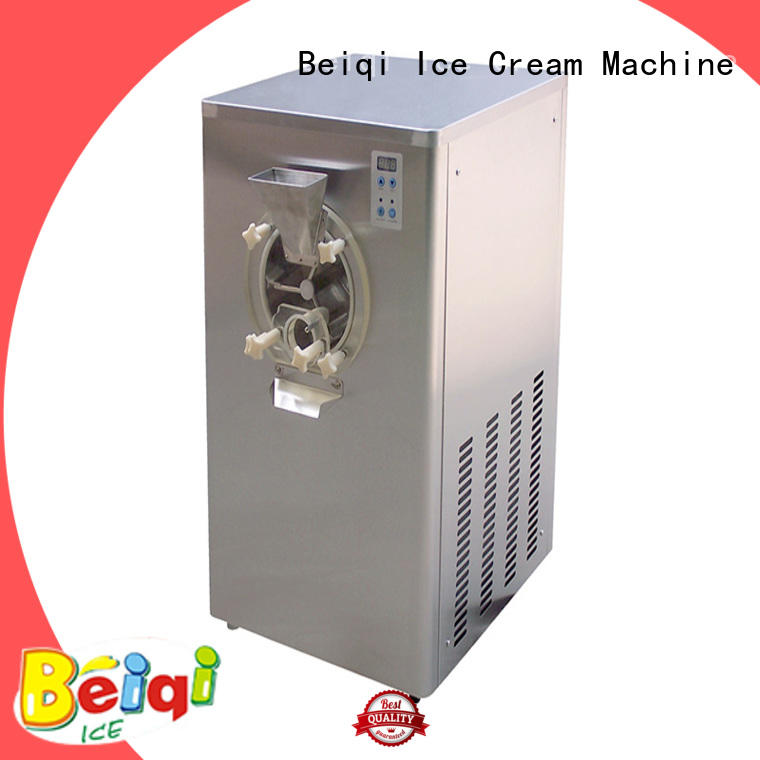solid mesh sard Ice Cream Machine ODM For Restaurant