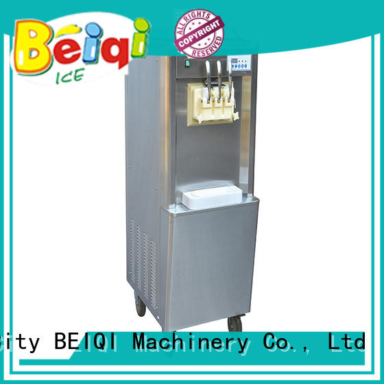 funky Soft Ice Cream Machine for sale customization Frozen food Factory